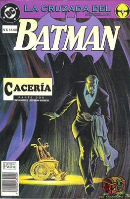 Batman: La cruzada del murciélago (Rustica) #8