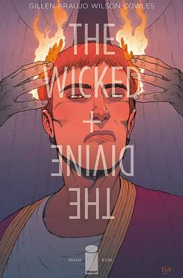 The Wicked + The Divine: 455 AD Variant Cover