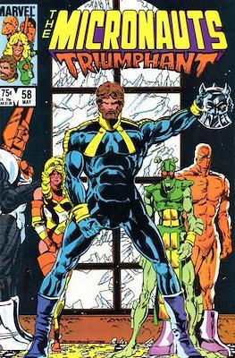 The Micronauts Vol.1 (1979-1984) (Comic Book 32 pp) #58