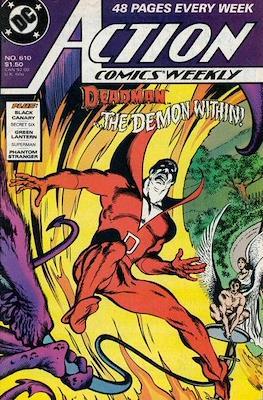 Action Comics Vol. 1 (1938-2011; 2016-) (Comic Book) #610