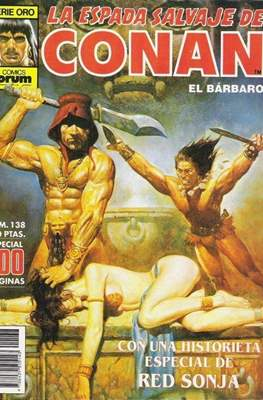 La Espada Salvaje de Conan. Vol 1 (1982-1996) (Grapa. B/N.) #138