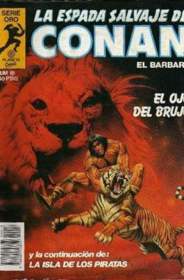 La Espada Salvaje de Conan. Vol 1 (1982-1996) (Grapa. B/N.) #18