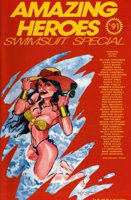 Amazing Heroes Swimsuit Special (Softcover 52-150 pp) #2