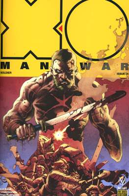 X-O Manowar Vol. 4 (2017-2019) #1.1
