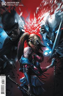 Batman Vol. 3 (2016- Variant Cover) #103