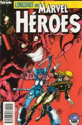 Marvel Héroes (1986-1993) (Grapa 32 pp) #20