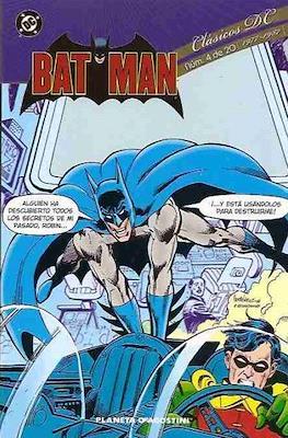 Batman. Clásicos DC (Rústica 208 pp) #4