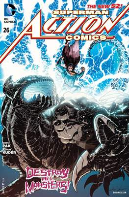Action Comics Vol. 2 (2011-2016) (Grapa) #26
