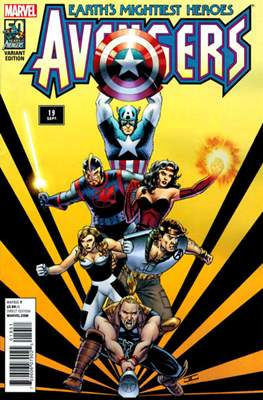Avengers Vol. 5 (2013-2015 Variant Covers) (Comic Book) #19.3
