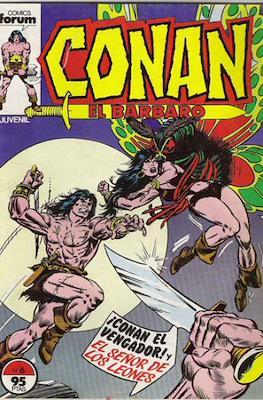 Conan el Bárbaro (1983-1994) (Grapa. 19x27. 36/32/24 páginas. Color.) #6