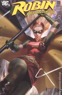Robin 80th Anniversary (Variant Cover) (Softcover 100 pp) #1.6