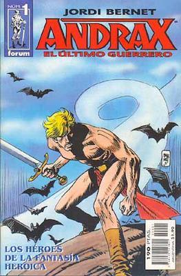 Andrax, el ultimo guerrero (Grapa.) #1