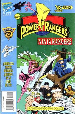 Power Rangers. Ninja Rangers