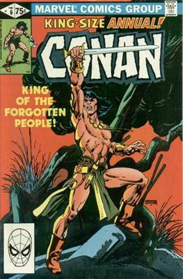 Conan The Barbarian Annuals (1973-1987) (Grapa, 48 págs.) #6