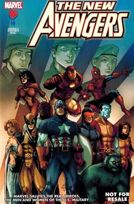 America Supports You: Marvel Salutes the Real Heroes, the Men and Women of the U.S. Military #3
