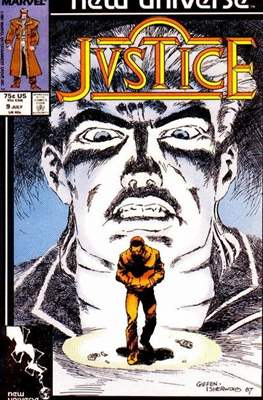 Justice. New Universe (1986) #9