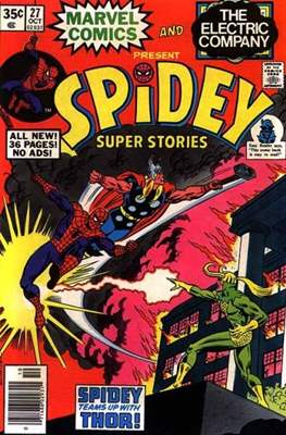 Spidey Super Stories Vol 1 (Comic-book) #27