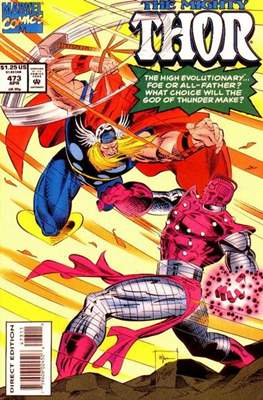 Journey into Mystery / Thor Vol 1 (Comic Book) #473