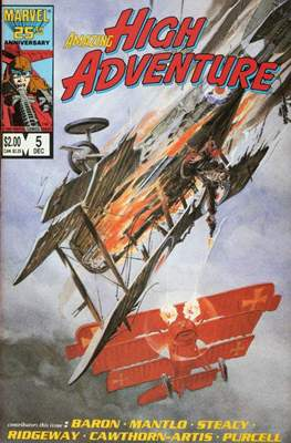 Amazing High Adventure (1984-1986) (Comic book 48 pp) #5