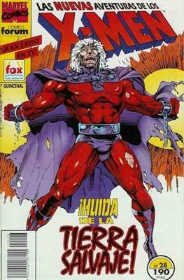 Las nuevas aventuras de los X-Men (Grapa 24 pp) #28
