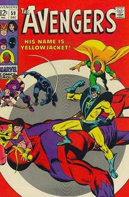 The Avengers Vol. 1 (1963-1996) (Comic Book) #59