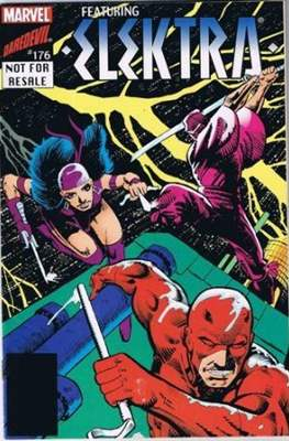 Daredevil #176 featuring Elektra
