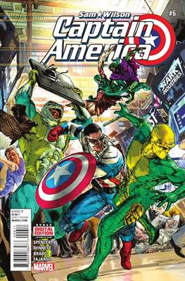 Captain America: Sam Wilson Vol 1 (Grapa) #6