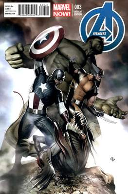 Avengers Vol. 5 (2013-2015 Variant Covers) (Comic Book) #3.1