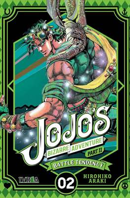 JoJo's Bizarre Adventure - Part II: Battle Tendency (Rústica con sobrecubierta) #2