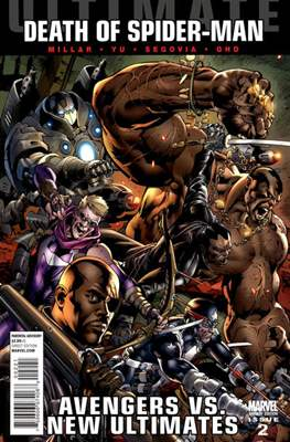Ultimate Avengers vs. New Ultimates Vol. 1 (Variant Covers) (Comic Book) #2
