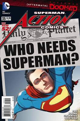 Action Comics Vol. 2 (2011-2016) (Grapa) #35