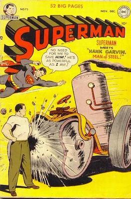 Superman Vol. 1 / Adventures of Superman Vol. 1 (1939-2011) (Comic Book) #73