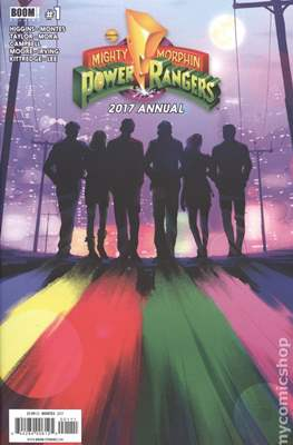 Mighty Morphin Power Rangers Annual (2016-) (Comic book) #2