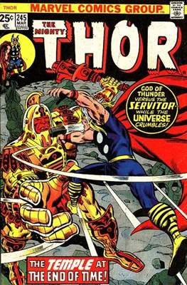 Journey into Mystery / Thor Vol 1 (Comic Book) #245