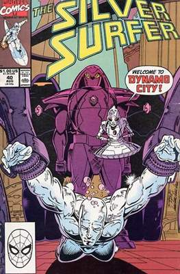 Silver Surfer Vol. 3 (1987-1998) #40