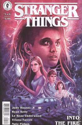 Stranger Things: Into the Fire (2020 Variant Cover)