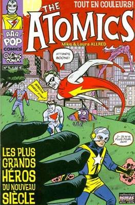 The Atomics (Broché dos cahier. 32 pp) #1
