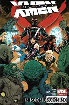 Uncanny X-Men (2016-2017) (Grapa) #16