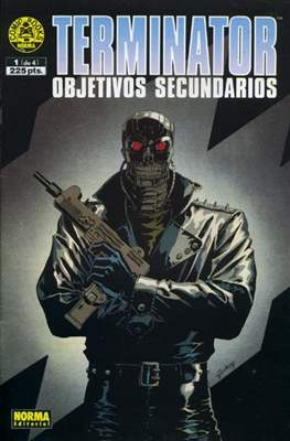 Terminator: Objetivos secundarios. Línea Cómics Books Norma #1