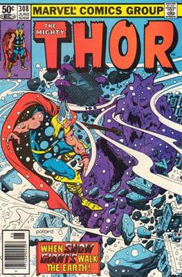 Journey into Mystery / Thor Vol 1 (Comic Book) #308