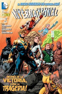 Liga de la Justicia Internacional. Nuevo Universo DC (Rústica 96-96-160 pp) #2