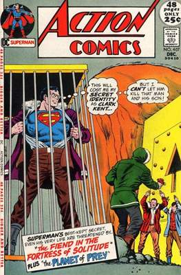 Action Comics Vol. 1 (1938-2011; 2016-) (Comic Book) #407