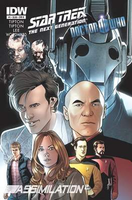 Star Trek: The Next Generation/Doctor Who: Assimilation² (Comic Book 24 pp) #1