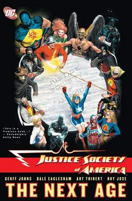 Justice Society of America (2007) (Softcover) #1