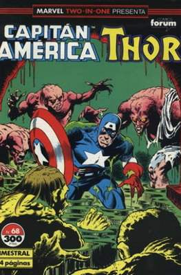 Capitán América Vol. 1 / Marvel Two-in-one: Capitán America & Thor Vol. 1 (1985-1992) (Grapa 32-64 pp) #68