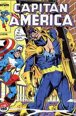 Capitán América Vol. 1 / Marvel Two-in-one: Capitán America & Thor Vol. 1 (1985-1992) #41