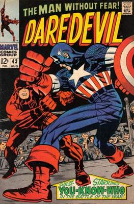 Daredevil Vol. 1 (1964-1998) (Comic Book) #43