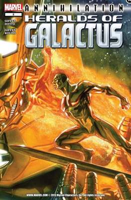 Annihilation: Heralds of Galactus (Comic-Book) #2