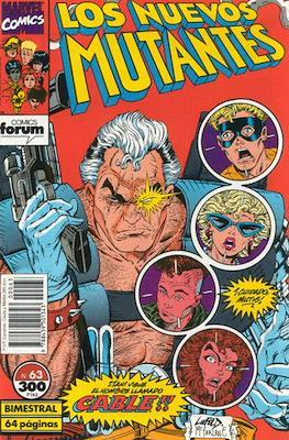 Los Nuevos Mutantes Vol. 1 (1986-1990) (Grapa 32-64 pp) #63