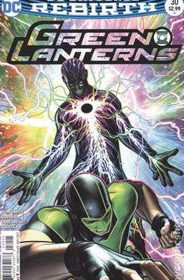 Green Lanterns (Vol. 1 2016-... Variant Covers) (Comic Book) #30